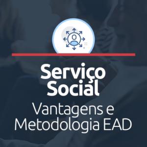 serviço social ead vantagens e metodologia